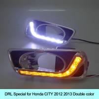 DRL Covers For Fog Lamp Honda City 2015-2021