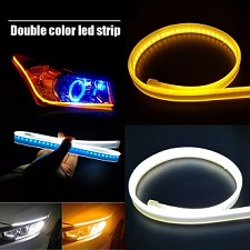 Audi Style Flexible DRL For Headlights