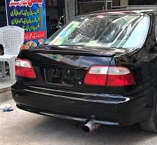 Honda Civic 1996-1997-1998-1999-2000 Trunk Lip Spoiler