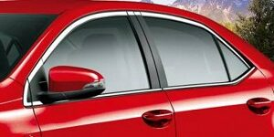 Toyota Corolla 2015-2021 All Window Chrome Trim Set