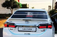 Toyota Corolla Model 2015-2019 Rear Window Roof Spoiler (Painted)