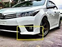 Toyota Corolla 2015 OEM Style Bodykit Front Lips Plastic