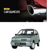 Stainless Steel Car Rear Silencer Exhaust Pipe Tip For Suzuki Mehran