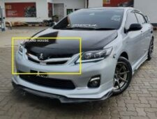 Toyota Corolla 2011-2012-2013--2014 Canadian Style Modified Chrome Grill