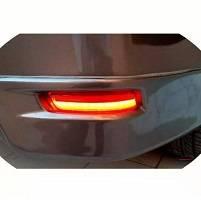For Toyota Corolla 2015-2016-2017-2018-2019-2020-2021 LED Rear Bumper Reflector Lights
