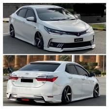 Toyota Corolla 2018 TRD STyle Bodykit Fibreglass
