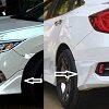 Modulo Bodykit For Honda CIVIC 2017-2020 (Plastic) - 4PCS