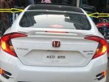 Rear Window Roof Spoiler Cut Style Honda Civic X (Painted) Suitable Models 2016-2017-2018-2019-2020-2021