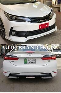 Toyota Corolla 2018-2019-2020 Facelift TRD Style Bodykit