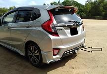 Honda Fit ABS Plastic Bodykit
