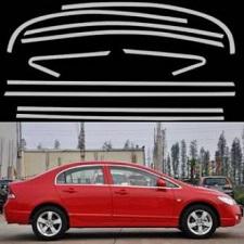 Honda Civic 2006-2012 Reborn All Window CHrome trims