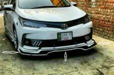Universal Front Bumper Splitter