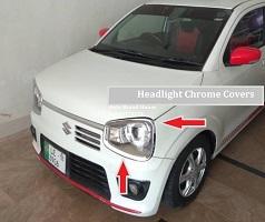 Suzuki Alto 660cc Headlight Chrome 02 Pcs