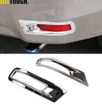Toyota Corolla 2015-2016-2017-2018-2019-2020-2021 Rear Bumper Reflector Chrome Covers