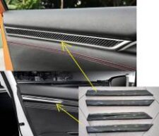 Honda Civic 2017-2021 Door Carbon Fibre Cover Trim 04 Pcs