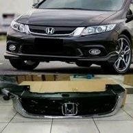 Honda Civic 2013-2015 Rebirth Chrome Grill
