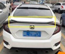 Honda Civic 2017-2021 Trunk Lip Spoiler (Painted)