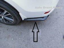 Toyota Corolla Rear Bumper Splitters Canards