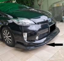 Toyota Prius 2010-2012 Custom Fit Front Bumper Splitter (Plastic)