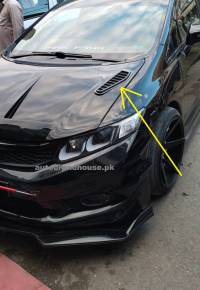 Car Bonnet Vents Carbonfibre