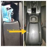 Honda Civic 2017-2021 Armrest Carbon Fibre Cover Trim 03 Pcs