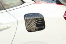 Honda Civic 2017-2018-2019-2020-2021 Fuel Tank Cover Carbon Fibre