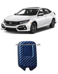 Honda Civic X 2017-2018-2019-2020-2021 Remote Cover Carbon Fibre