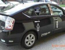 Toyota Prius Chrome 2004-2005-2006-2007-2008 Handle Covers