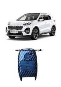 KIA Sportage Remote Cover Carbon Fibre