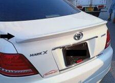 Toyota Mark X Trunk Lip Spoiler