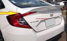 Honda Civic X 2017-2021 Trunk Duck Tail Style Spoiler Suitable Models: 2017-2018-2019-2020-2021