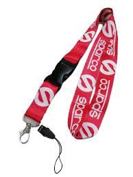 JDM Racing Car Hanging Straps Ribbon (RED)