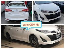 Toyota Yaris 2021 OEM Style Bodykit Plastic